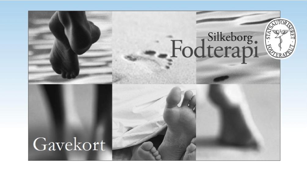 Gavekort hos Silkeborg fodterapi